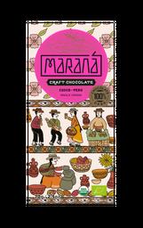 Maraná Tabla De Chocolate Cusco 100% Cacao