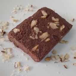 Brownie de Chocolate Puro con Castañas