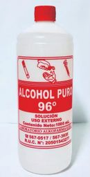 Alcohol 96* 1000 Ml