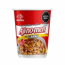 Aji-No Men Sopa Carne Vaso