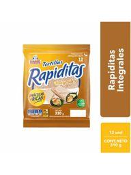 Bimbo Tortillas Rapiditas Integrales