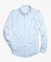 Camisa Sport Non Iron Oxford Regent Fit Light Blue
