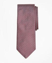 Corbata Seda Micro Check