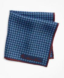 Pañuelo Seda Print Reversible
