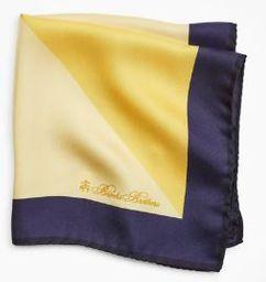 Pañuelo Seda Yellow Print