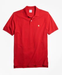 Polo Hombre Slim Fit Supima® Cotton Performance Red