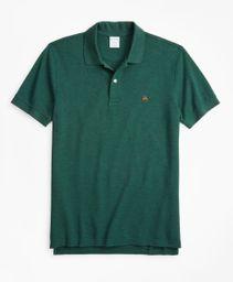 Polo Hombre Slim Fit Supima® Cotton Performance Dark Green