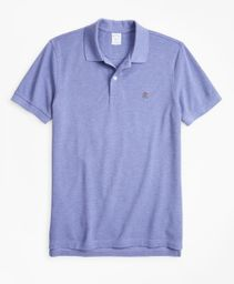 Polo Hombre Slim Fit Supima® Cotton Performance Light Blue