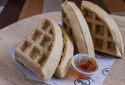 Waffles Sin Toppings