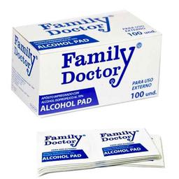 Family Doctor Alcohol Desinfectante En Pads Cax100 Fd