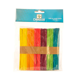 Palito D Chup Color Pqtx50 Sino-Cts Drag