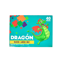 Block Arco Iris A4 40H 13C Dragon/Oxfor