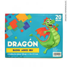 Block Cartul 20H 24X31.5Cm Dragon 160Gr
