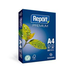 Papel Fotocopia Report 75Gr A-4 Pqtx500