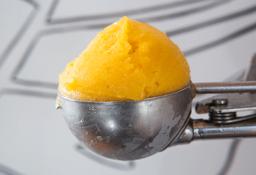 Bola de Helado de Mango