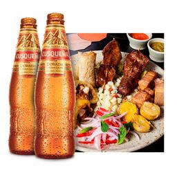 Piqueo Chicha y 2 Cervezas Cusqueñas (330ml)