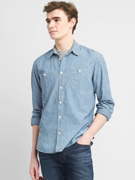 Camisa Hombre Jeans