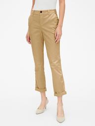 Pantalon Mujer Girlfriend Twill Stripe