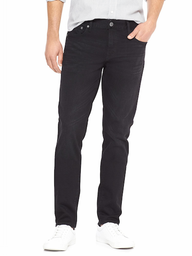 Jeans Skinny Washed Black Hombre