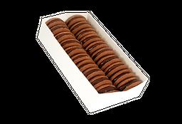 Alfajores Chocolate/Castaña x 20