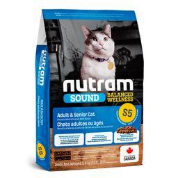S5 Nutram Gatos Adult And Senior