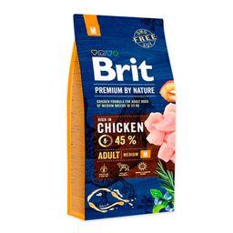 Brit Premium by Nature Adult Medium Breed - Pollo