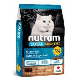 T24 Nutram Gatos Total Trout & Salmón