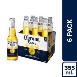 Corona Cerveza Pack 6 U
