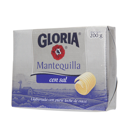 Gloria Mantequilla Con Sal
