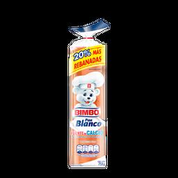 Pan Blanco Bimbo X 750 Gr