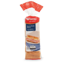 Pan Wong de Molde Blanco 600 g