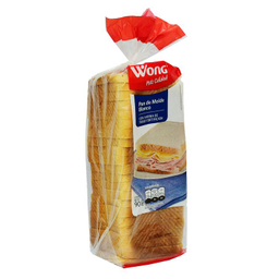 Pan Wong de Molde Blanco 900 g