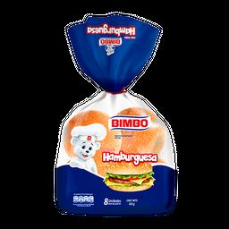 Pan Bimbo Para Hamburguesa 8 U