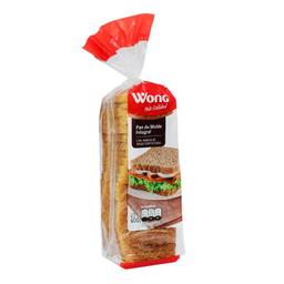 Pan Wong de Molde Integral 600 g