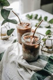 iced cacao latte