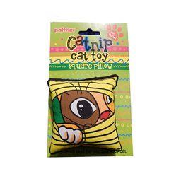 Almohada de catnip ojo gato