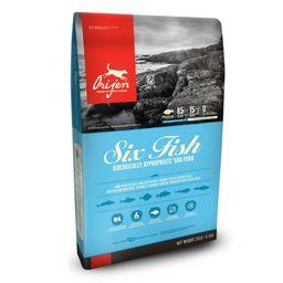 Orijen dog six fish 11.35 kg