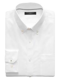 Banana Republic Camisa Camden Standard-Fit Non-Iron Dress Blanco