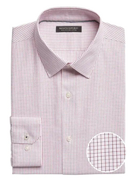 Banana Republic Camisa Camden Standard-Fit Non-Iron Dress