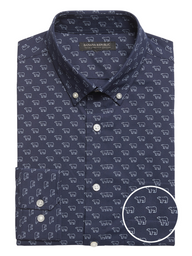 Banana Republic Camisa Tech Polar Bear Azul Marino