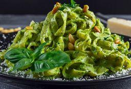 Spaguetti al Pesto Rústico