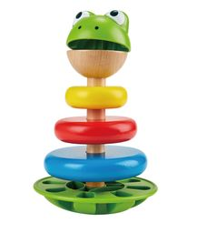 Mr. Frog Apilando Anillos