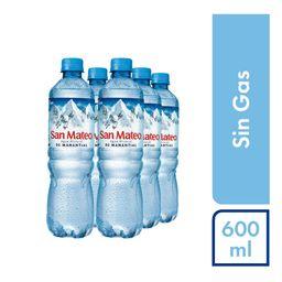 San Mateo Agua Mineral Sin Gas