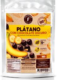 Frutanua Plátano Con Chocolate Orgánico 70%