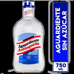 Antioqueño Aguardiente Sin Azúcar Tapa Azul