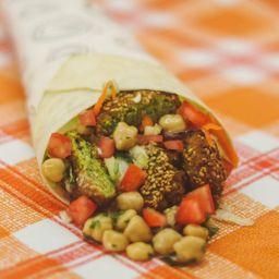 Wrap para Dos de Falafel