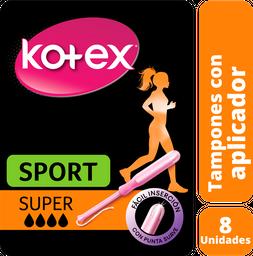 Kotex Tampon Sport Super 8 Unid