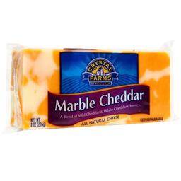 Queso Cheddar Crystal Farms Marble 226 g