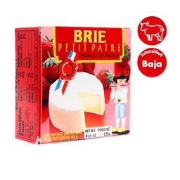 Queso Brie Petit Patre 125 g
