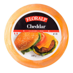 Queso Cheddar Floralp 500 g